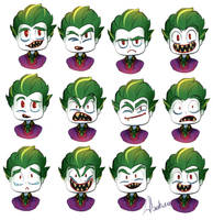 Joker Expressions by Abakura