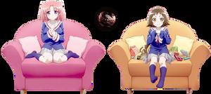 [Render] Kobeni and Mashiro