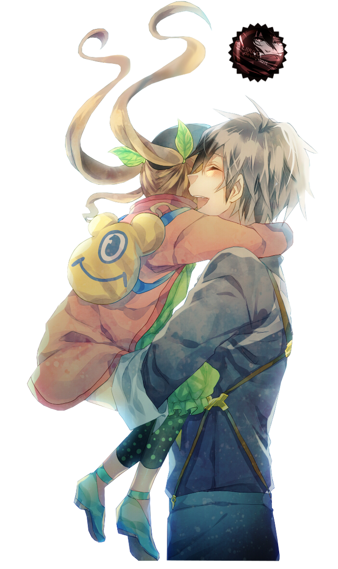 80 Renders Mangas Amour/Amitié _render__elle_and_ludgar_by_liriasky-d7zunf6