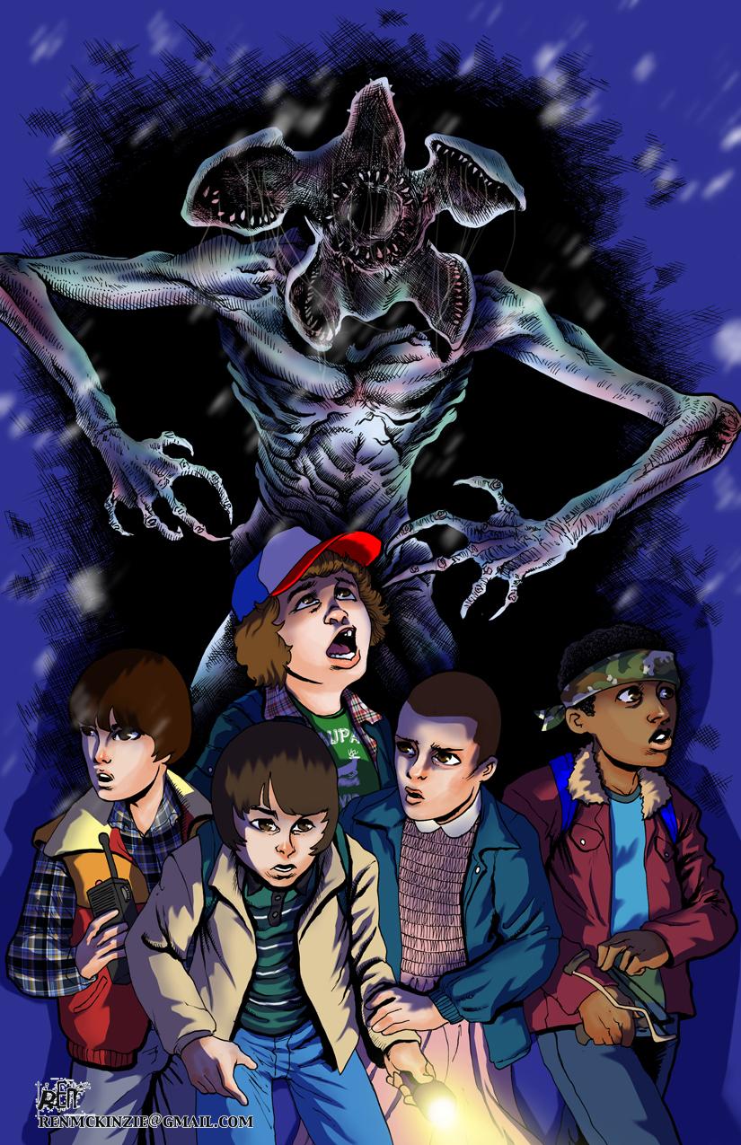StrangerThingsGroup by Darkness33