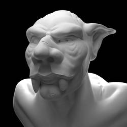 A Distinguished Troll - Practice Sculpt by minionofphysics