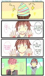 Ice Cream Test by Sayuri-chann