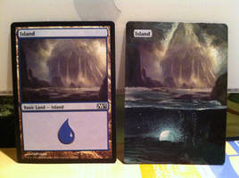 MTG Island Alter by ReneeYV