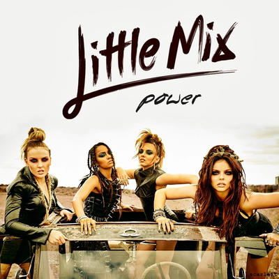 little mix power album cover by scarlettfalcon on