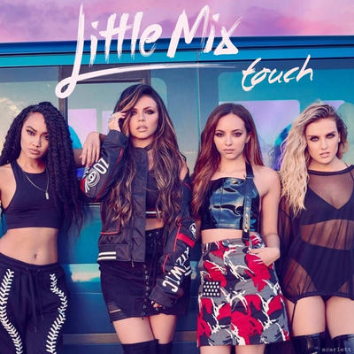 little mix touch album cover by scarlettfalcon on