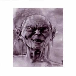 Gollum by angelhitomi