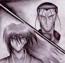 Saitoh and Kenshin