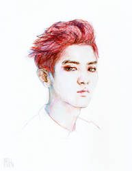 Red Head Yeol by nelleven