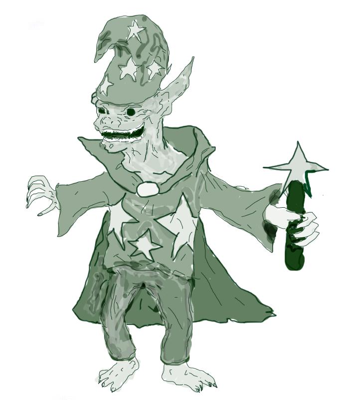 goblin wizard for trollitc by fin samar on deviantart