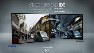 HDR tutorial