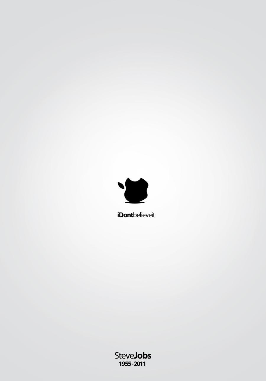 R.I.P. S.Jobs - iDontbelieveit by rodrigozenteno