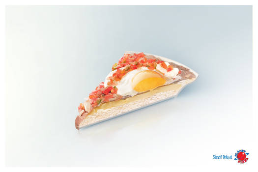 planet pizza food slice