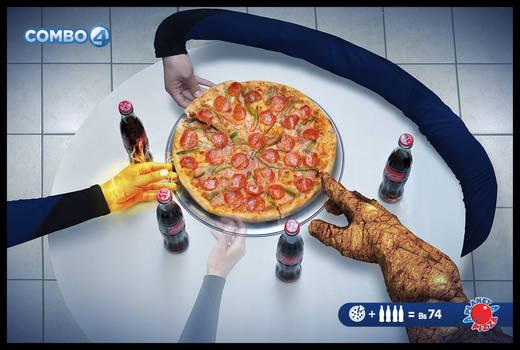 planet pizza combo 4