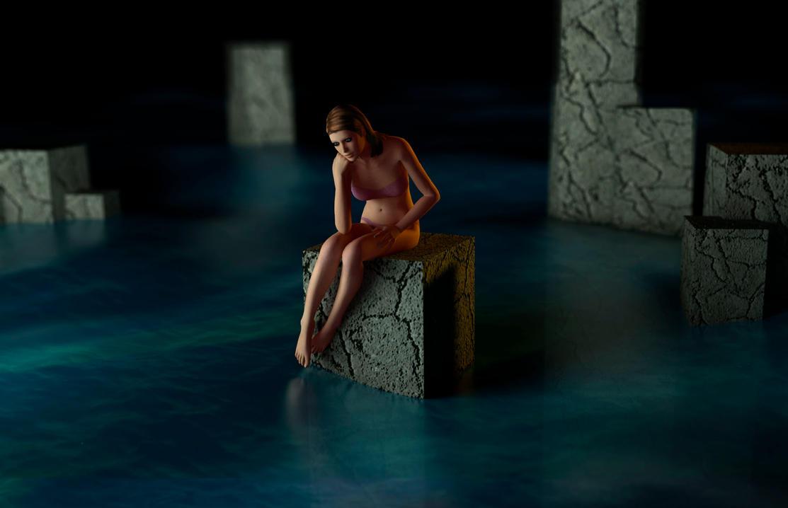 In the water by rodrigozenteno