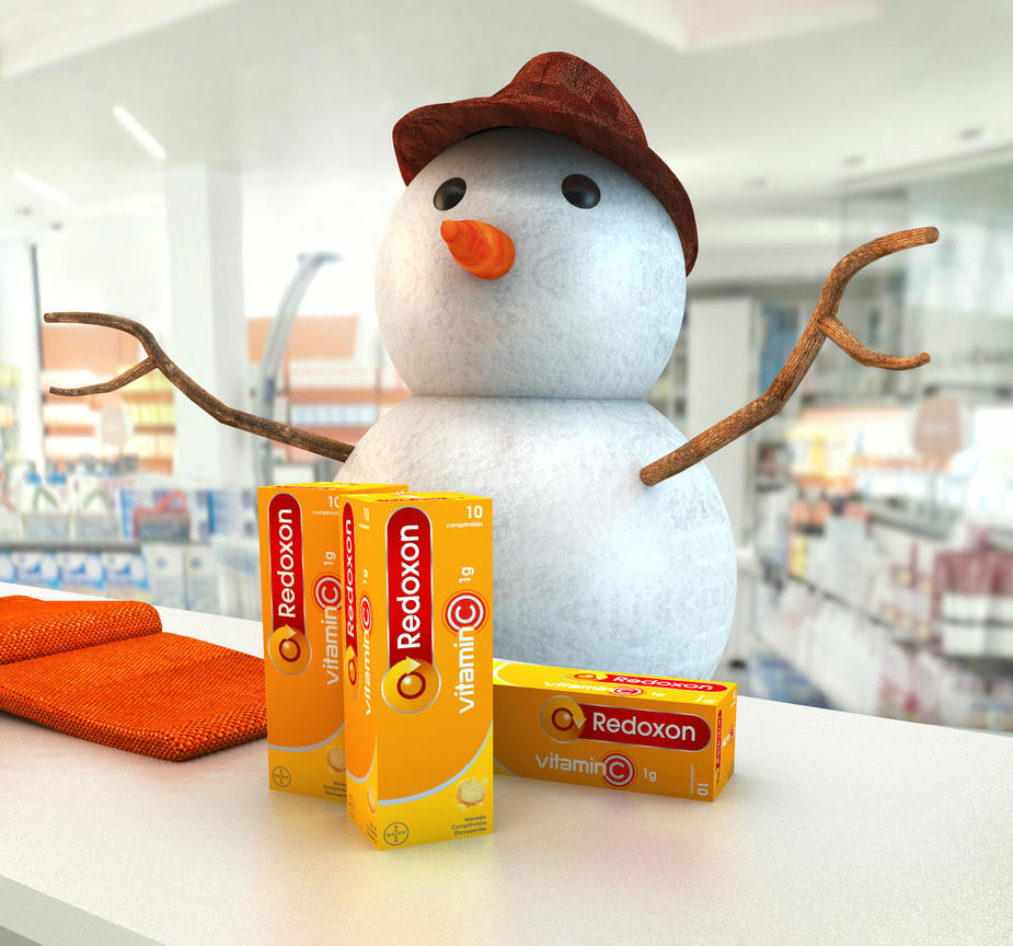 REDOXON snowman by rodrigozenteno