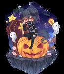 [YCH]  Zephyr - Halloween