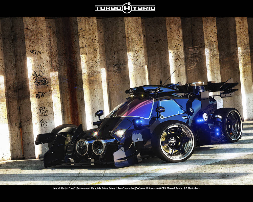 Turbo Hybrid - 2nd View by Sqwall