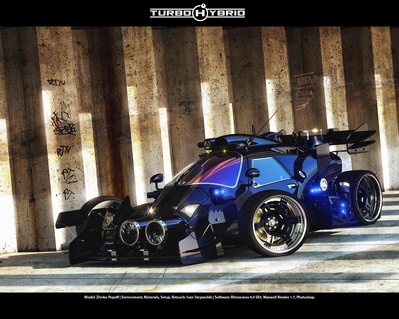 Turbo Hybrid 2nd View By Sqwall