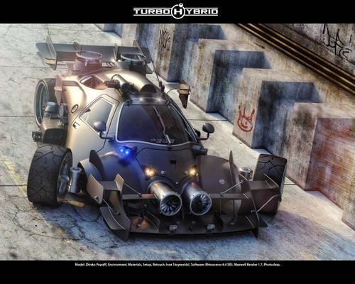 Turbo Hybrid - 3rd View
