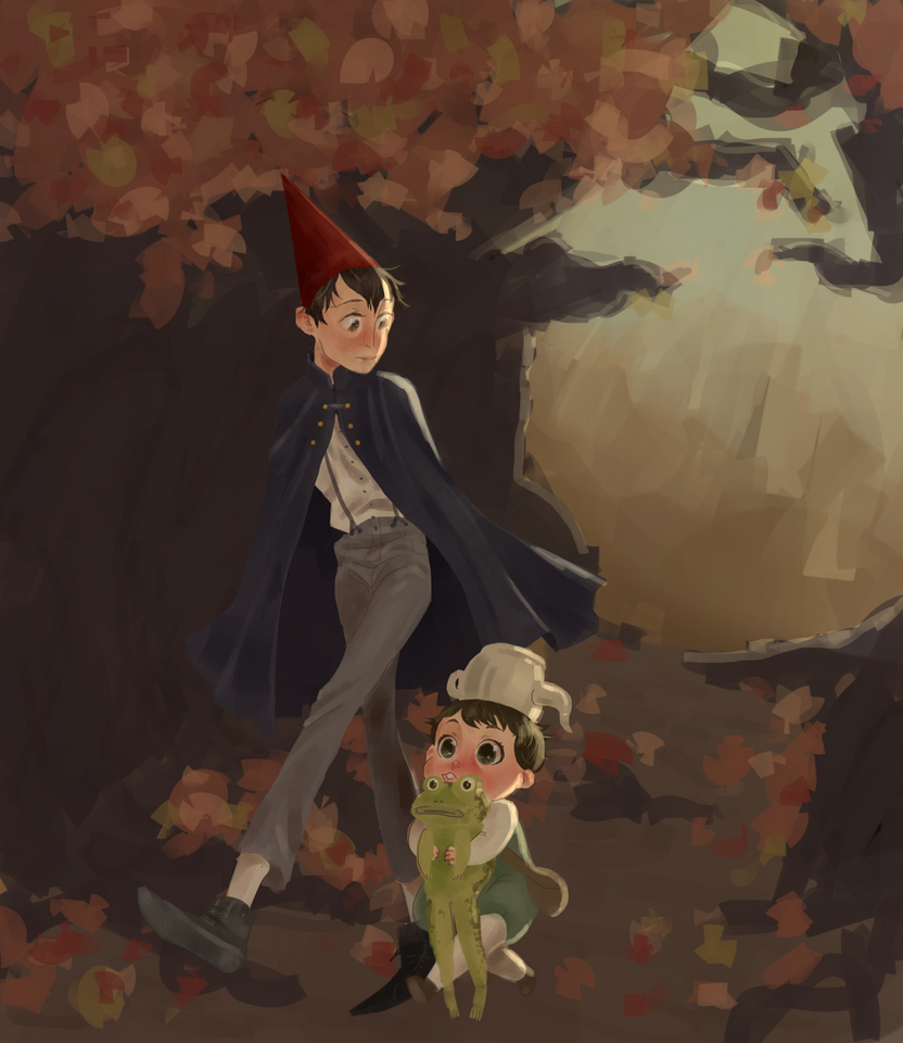 Over The Garden Wall By Kowairazor On Deviantart