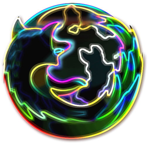 Cool Firefox Icon NeonFox Firefox Icon b...