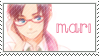 Mari Makinami Stamp