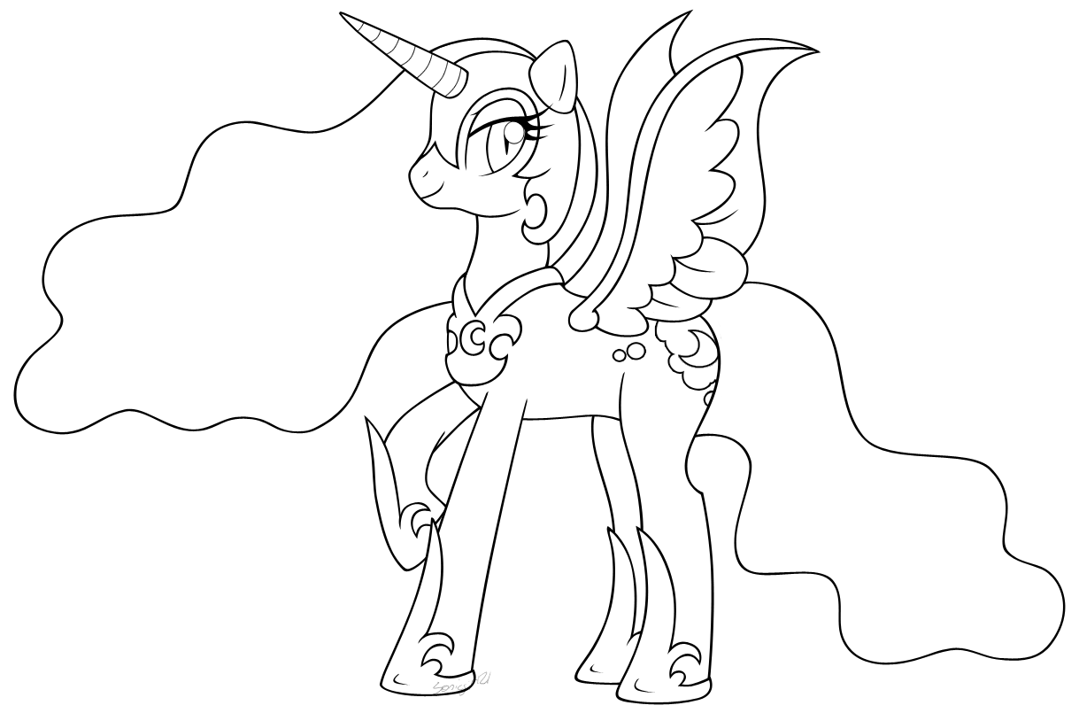 nightmare moon coloring pages Nightmare Moon Coloring Sheet | Coloring Pages nightmare moon coloring pages
