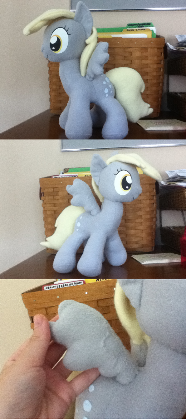 Derpy Hooves v.2 by MintyStitch