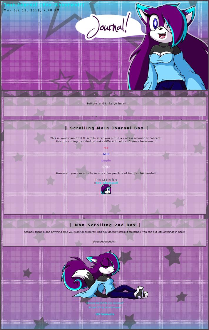 Eva-Ghostwolf CSS by MintyStitch