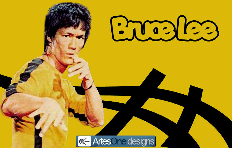 Bruce lee by artesone