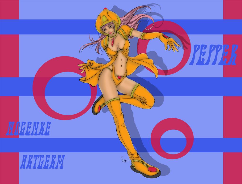 Pepper Fan Art Remix by nogenre