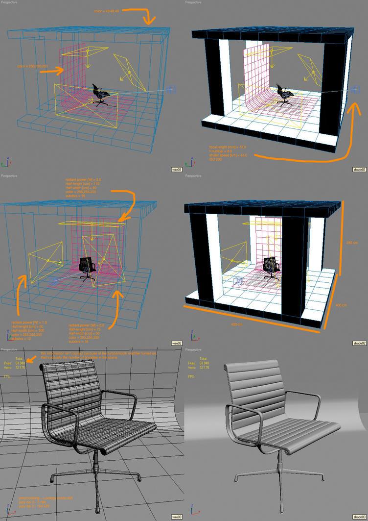 EA 107 studio setup by zmoodel