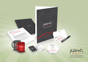 Kaizen Corporate Identity by Chubby-Cherry