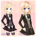 lily before after