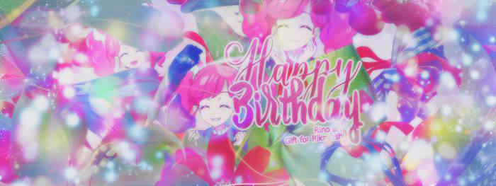 [05072016] Gift for Rikayashi