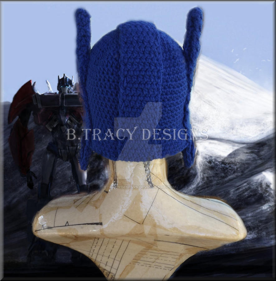 Optimus Prime Inspired Hat By Bacy Designs By Btracydesigns On