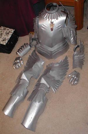 Griffith Armor 4-Berserk Manga