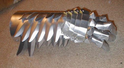 Griffith Armor -Forearm by AmethystArmor