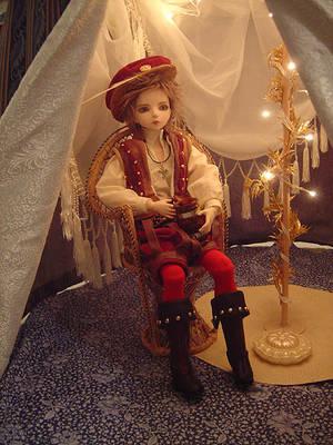 Round Doll Pavilion - Interior