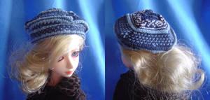 BJD - Knitted Alpine Hat by AmethystArmor