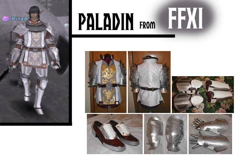 Paladin Final Fantasy Cosplay by AmethystArmor