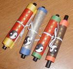 Kakashi Summoning Scrolls