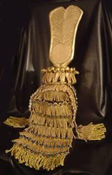 Cleopatra Headdress Back View