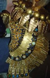 Cleopatra Headdress Up Close by AmethystArmor