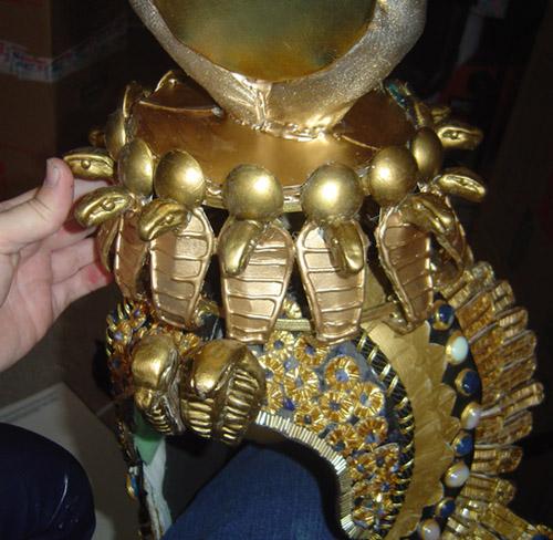Cleopatra Headdress Up Close 2 by AmethystArmor