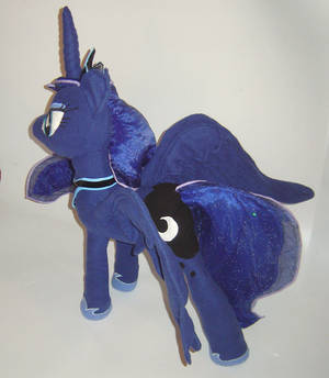 Princess Luna Plushie - My Little Pony FIM View 2