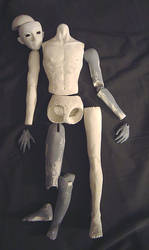 Male Ball Joint Doll - Failed Project Number Two by AmethystArmor