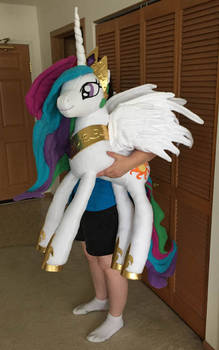 My Latest My Little Pony Plushie - Celestia - Long
