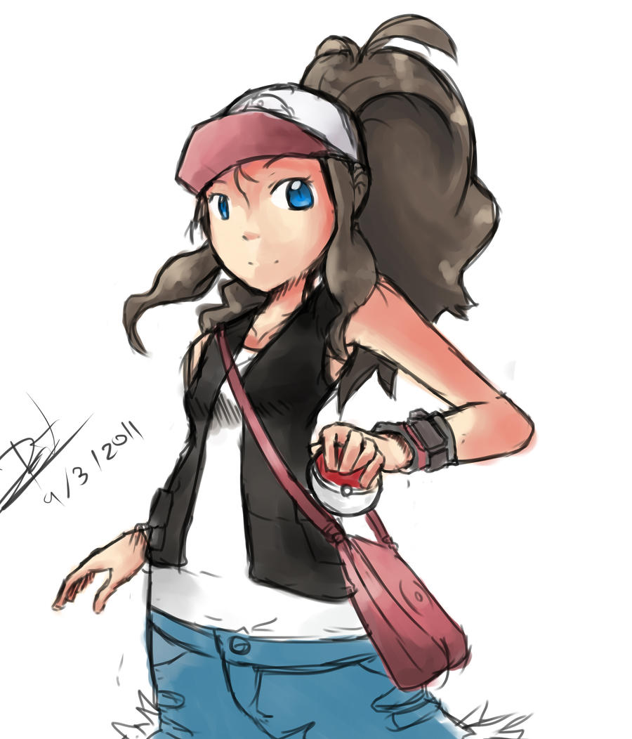 pokemon white trainer gir