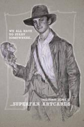 Indiana Jones - Superfan Card by Advertassociates